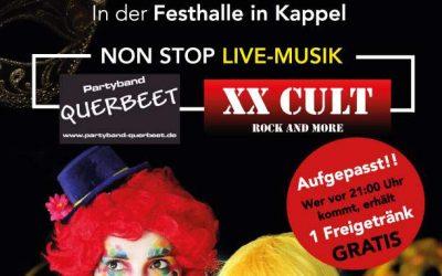Maskenball der Musikkapelle Kappel am Rhein