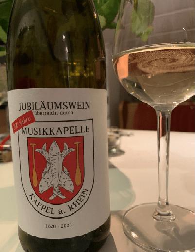 Aktuelle Info: Jubiläumswein wird ab sofort Verkauft