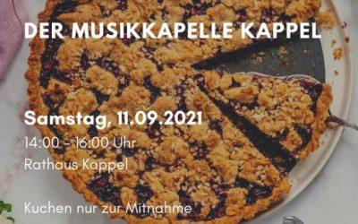 Kuchenverkauf am Samstag den 11.09 von 14-16.00 Uhr