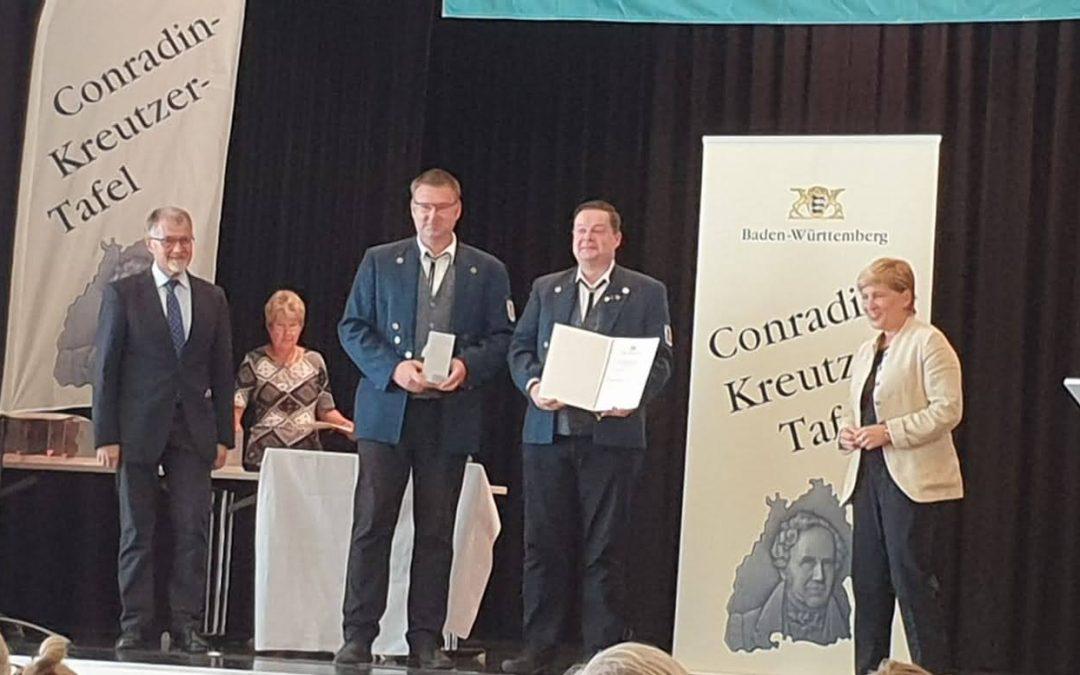 Verleihung Conradin-Kreutzer-Tafel zum 200-jährigen Bestehen