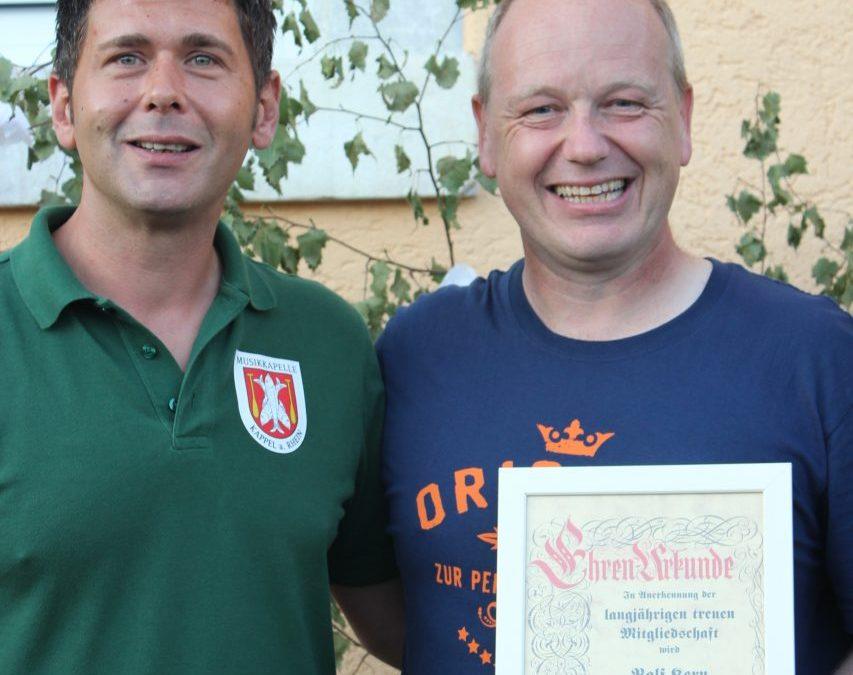 Ralf Kern wird zum Ehrenmitglied ernannt!